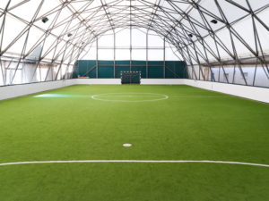 recycled rubber sports fields surfacing