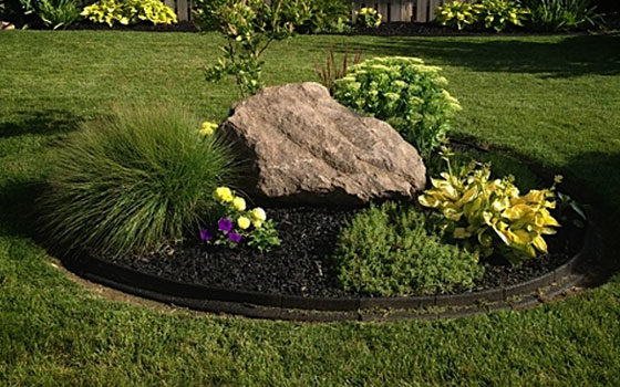 Rubber Landscape Surfacing for Gardens