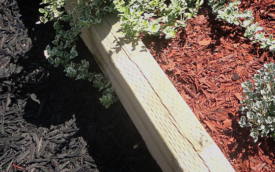 Rubber Mulch for Gardens